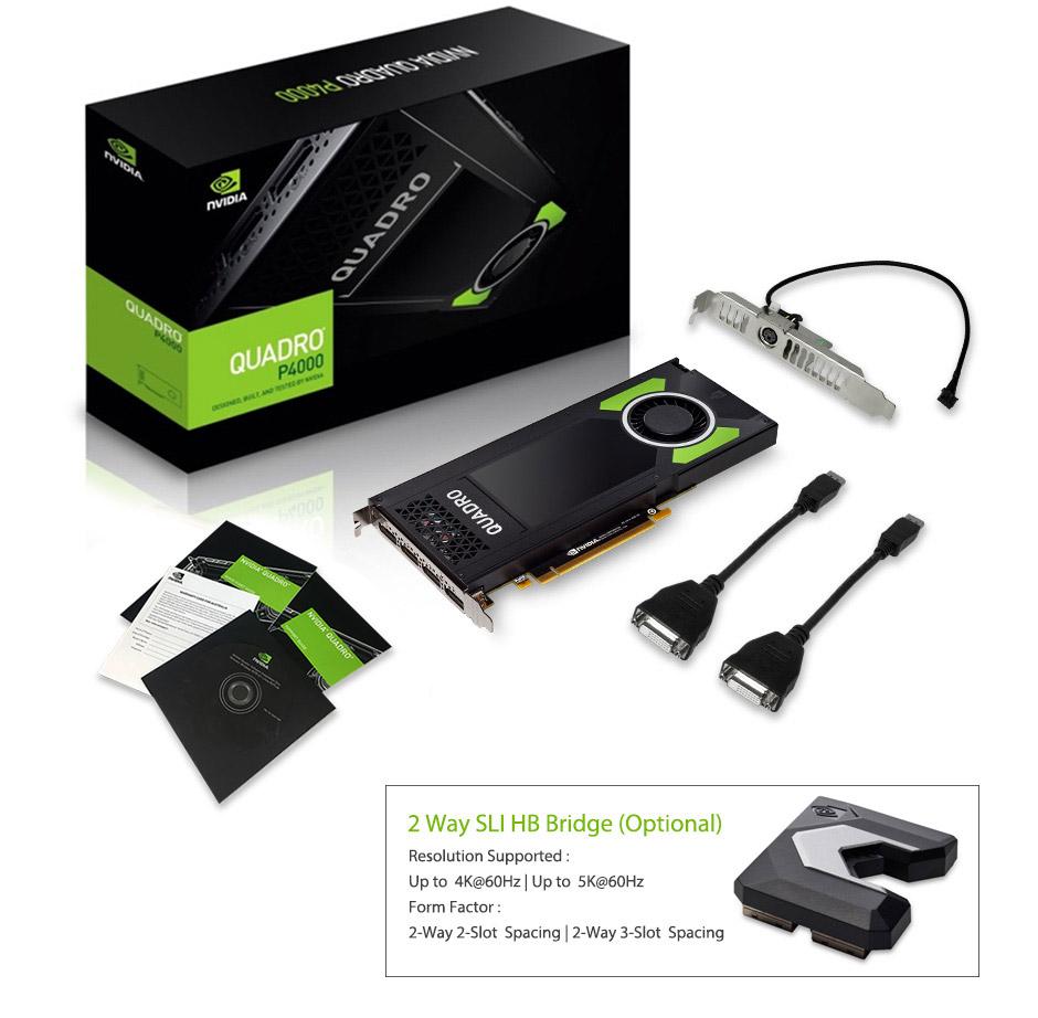 Nvidia Sli Bridge Connector For Quadro P5000 - Best Bridge