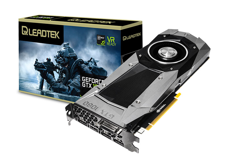 WinFast GTX 1080 Founders Edition 8G | Graphics Cards - Leadtek